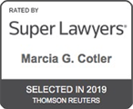 Marcia G. Cotler Super Lawyers Badge